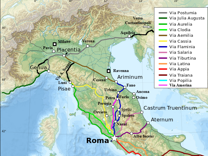 Cartina Italia Anno 500.Mappe Storia D Italia
